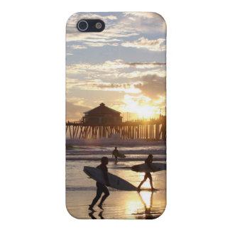 Huntington Beach Pier Cover For iPhone SE/5/5s