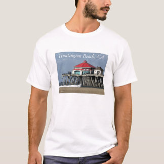 Huntington Beach Pier - Diner View T-Shirt