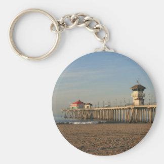 Huntington Beach pier Keychain