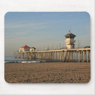 Huntington Beach pier Mouse Pad