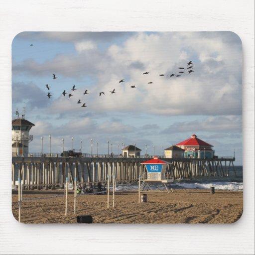 Huntington Beach Pier Mousepad