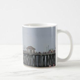 Huntington Beach Pier Coffee Mug