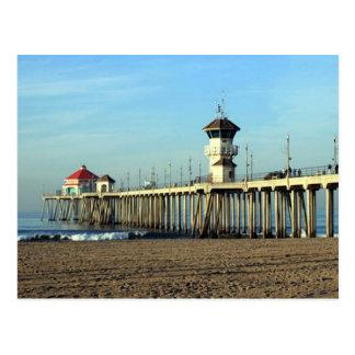 Huntington Beach Pier Postcard