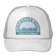Huntington Beach Pier Trucker Hat