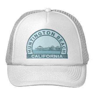 Huntington Beach Pier Trucker Hat