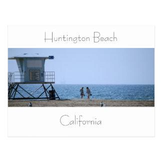 Huntington Beach Postcard