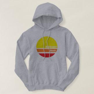 Huntington Beach retro hoodie