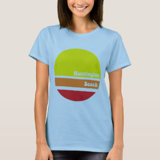Huntington Beach retro T-shirt. T-Shirt