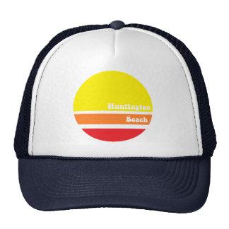 Huntington Beach retro trucker hat