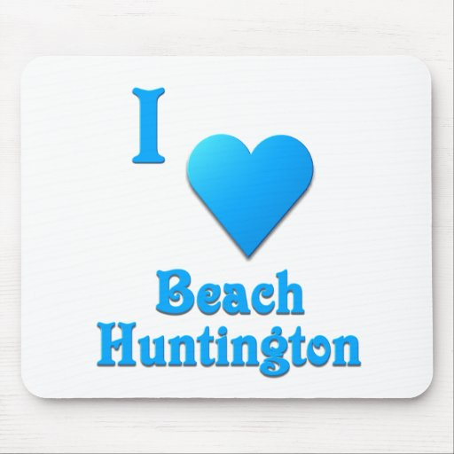Huntington Beach -- Sky Blue Mousepad