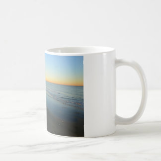 Huntington Beach Sunrise at the beach Coffee Mug