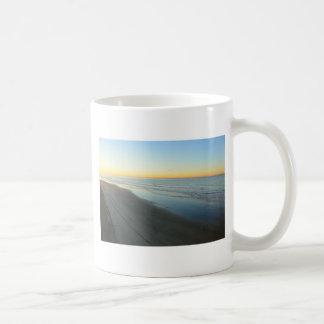 Huntington Beach Sunrise at the beach Coffee Mugs