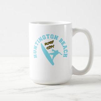 Huntington Beach, Surf City Mug