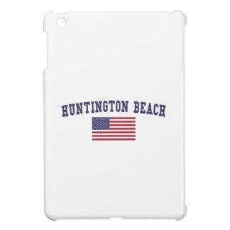 Huntington Beach US Flag Cover For The iPad Mini