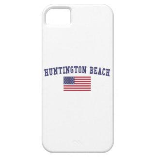Huntington Beach US Flag iPhone SE/5/5s Case