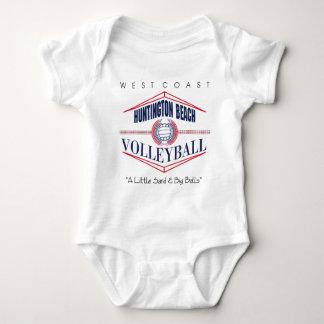 Huntington Beach Volleyball Baby Bodysuit