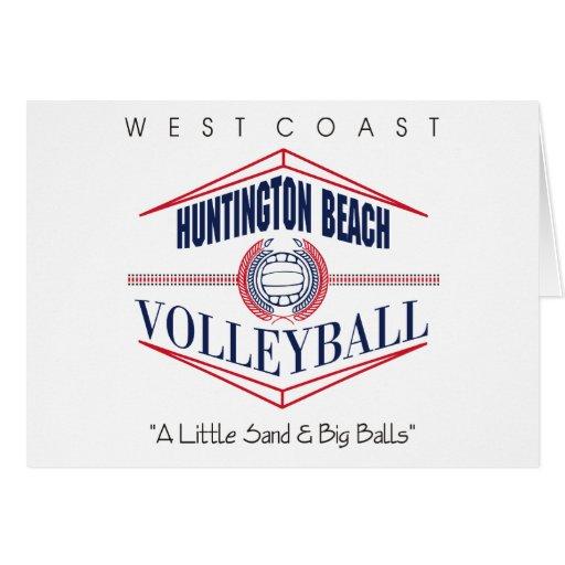 Huntington Beach Volleyball Gift Greeting Card