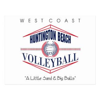 Huntington Beach Volleyball Gift Postcard