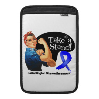 Huntington Disease Awareness Take a Stand MacBook Sleeve