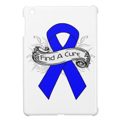 Huntington Disease Find A Cure Ribbon iPad Mini Case