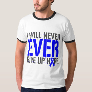 Huntington Disease I Will Never Ever Give Up Hope Tee Shirt