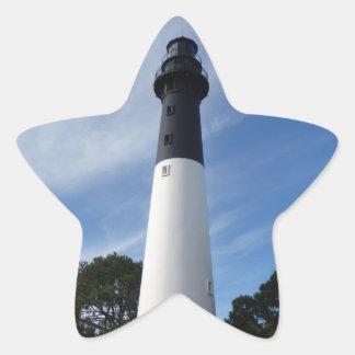Huntington Island Lighthouse Star Sticker