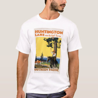 Huntington Lake and the Sierras T-Shirt