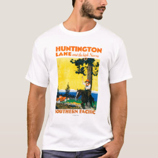 Huntington Lake Promotinal Poster T-Shirt