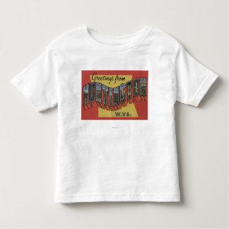 Huntington, Virginia Occidental - escenas grandes Camiseta