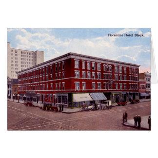 Huntington West Virginia Florentine Hotel Card