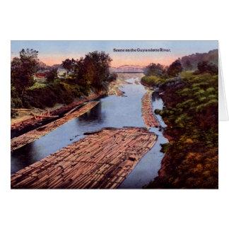 Huntington West Virginia Guyandotte River Greeting Card