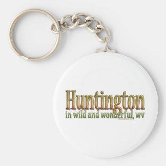 Huntington, West Virginia Keychain