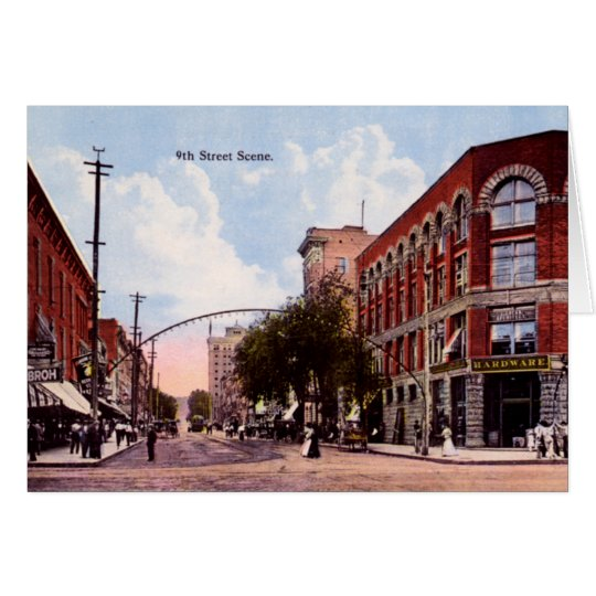 Huntington West Virginia Ninth Street Card