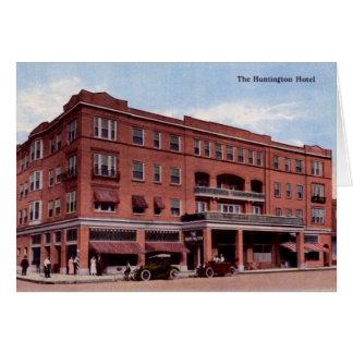 Huntington West Virginia The Huntington Hotel Card