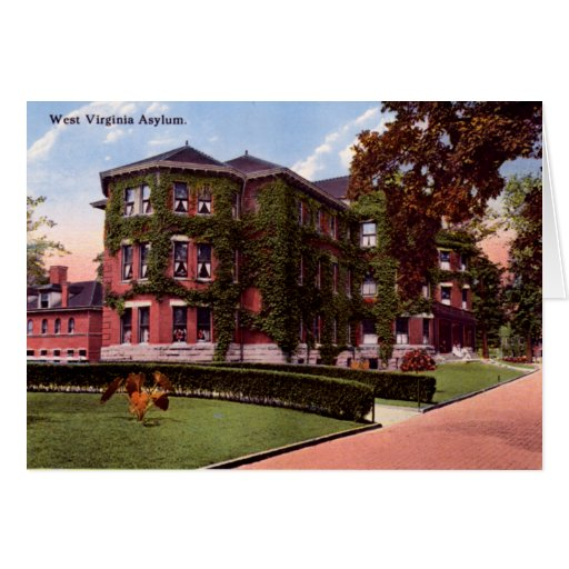 Huntington West Virginia West Virginia Asylum Greeting Card