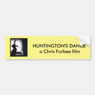 Huntington's Dance Bumper Sticker