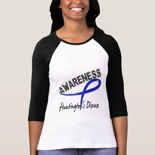 Huntington's Disease Awareness 3 Tees
