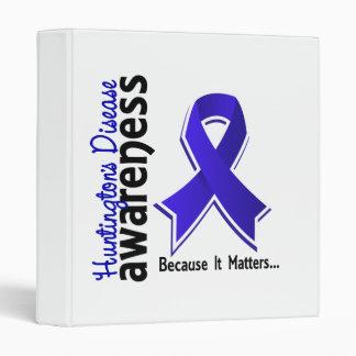 Huntington's Disease Awareness 5 Binder