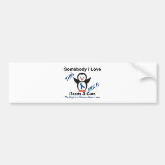 Huntington's Disease Awareness Someone I Love Bumper Sticker