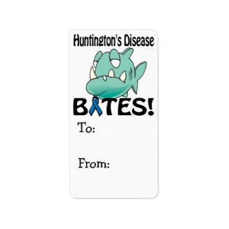 Huntingtons Disease BITES Label
