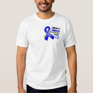 Huntington's Disease Ribbon Hero in My Life Shirt
