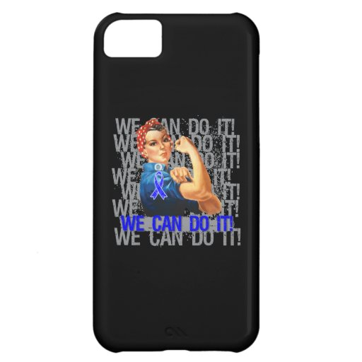 Huntington's Disease Rosie WE CAN DO IT iPhone 5C Cover