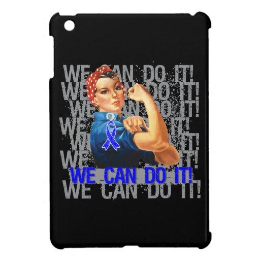 Huntington's Disease Rosie WE CAN DO IT iPad Mini Cases