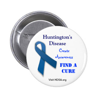 Huntington's Disease Support Button
