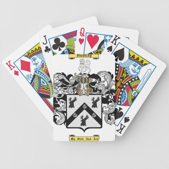 Huntley Bicycle Playing Cards