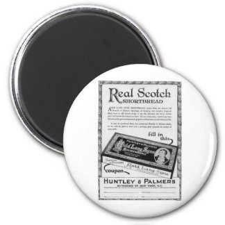 Huntly and Palmers auld lang syne shortbread 2 Inch Round Magnet