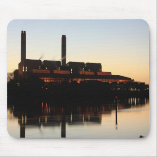 Huntly Power Station at sunset Mouse Pad