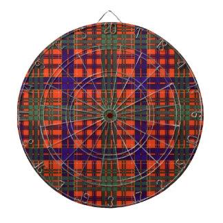 Huntly Scottish Tartan Dartboard With Darts