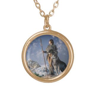 Huntress and Wolf Jewelry