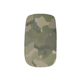 Huntress Camo Minx Nail Wraps